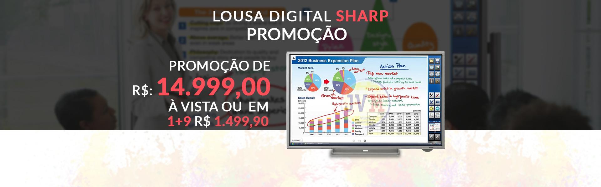 Lousa Digital Sharp