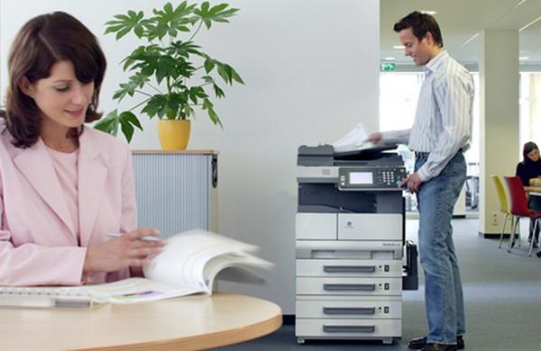 Ambiente Corporativo Aluguel de Impressoras Max Quality