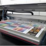 Impressão feita com matriz digital