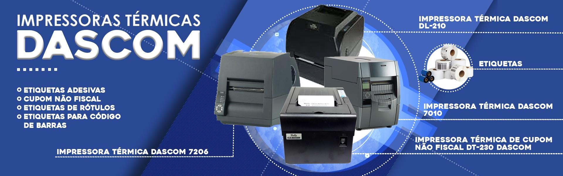 Impressoras Térmicas Dascom