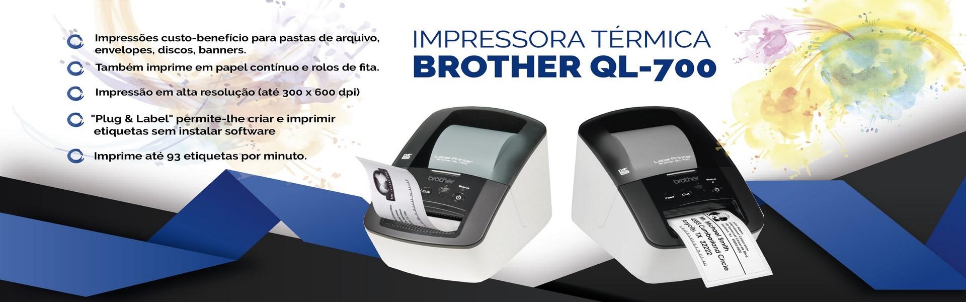 Impressoras Térmicas Brother
