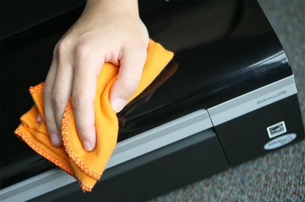 Limpeza de impressoras