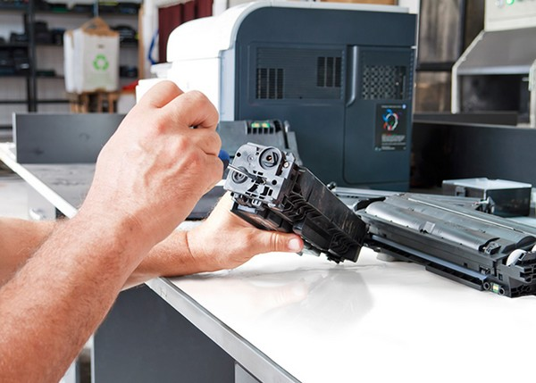 A importância de limpar a impressora