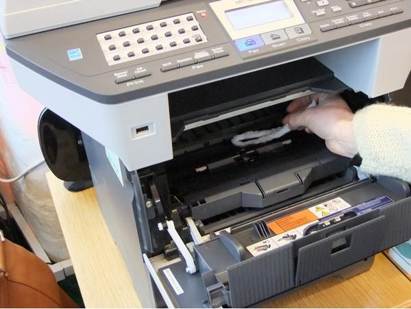Limpeza de impressora