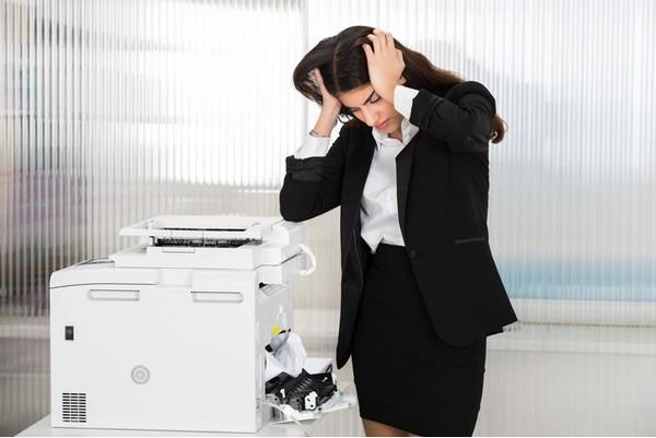 Como corrigir problemas com a impressora