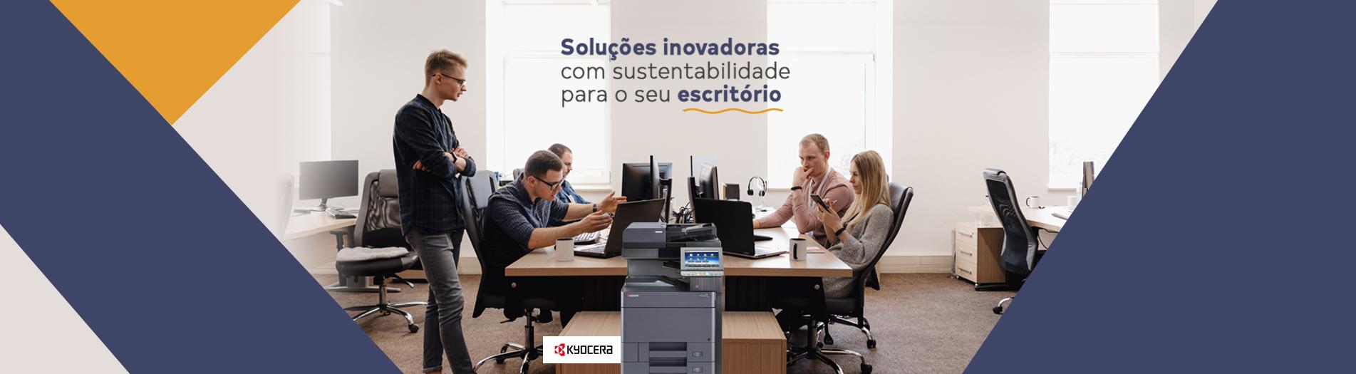 Soluções inovadoras com sustentabilidade para o seu escritório